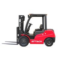 When it comes to forklift tonnage, how many tonnages does a heavy duty forklift usually have?