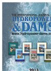 International Journal on Hydropower & Dams 2013 Editorial Programme & Rates