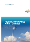 High Performance Wind Turbines Brochure