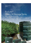 EcoSafe TITAN Oil Storage Tanks - Brochure