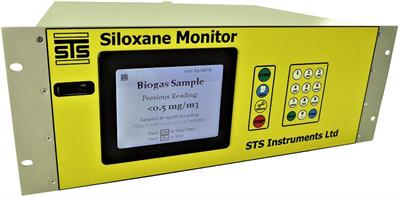STS - Siloxane Monitor for Biogas Feeds to CHP Engines