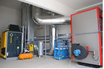 Energoblok - Biomass CHP Unit