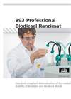 Model 893 - Professional Biodiesel Rancimat Brochure