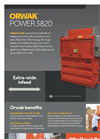 ORWAK POWER 3820 - Product Sheet