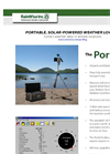 PortLog - Portable, Solar-Powered Weather Logger - Catalog