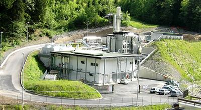 Biomass-to-Energy Plant