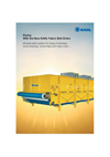 KAHL Fabric Belt Drier for Biomass - Brochure