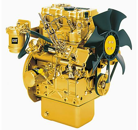 Caterpillar - Model C1.1 - Highly Regulated Industrial Diesel Engines