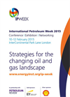 International Petroleum (IP) Week 2015 - Brochure