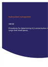 HM 69. Procedures for Determining H2S Concentration in Cargo Tank Head Spaces - Brochure