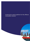 Construction Vessel Guideline for the Offshore Renewables Industry - Brochure