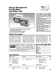 Carlo Gavazzi - Model EM21 - Energy Meter - Pulse Output Datasheet