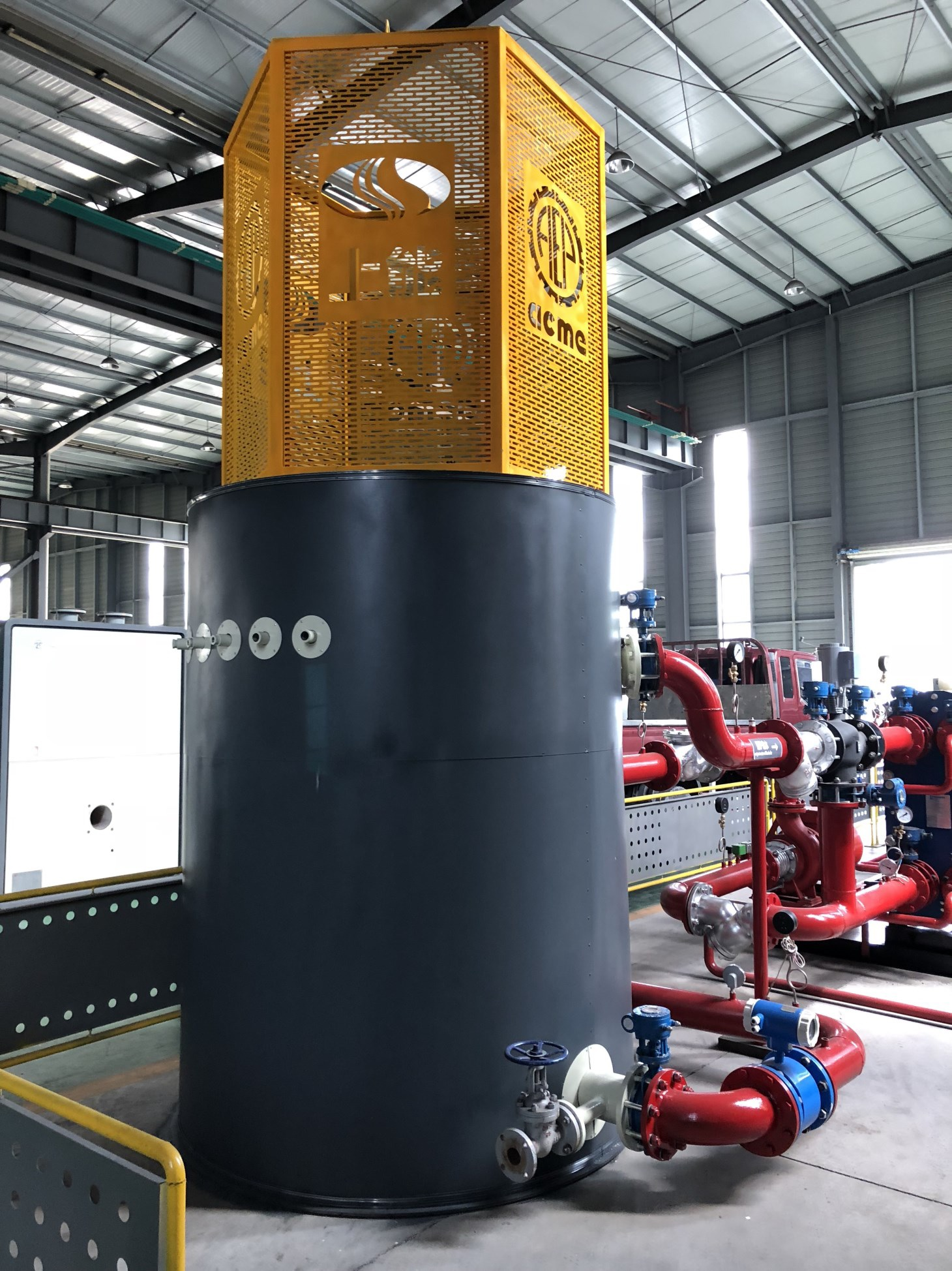 High Voltage Hot Water Immersed Electrode Boiler-1