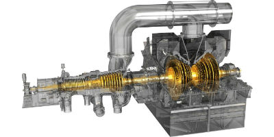 Model D400 and D600 - High-Efficiency Steam Turbines