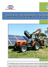Model F1750 - Photovoltaic Panels Cleaning Machine Brochure