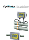 Dynasonics - Model TFX Ultra - Clamp-on Ultrasonic Flow and Energy Meter Brochure