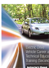 Electric Drive Vehicle Career and Technical Education Training Datasheet