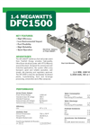 Self Contained Electrical Power Generation System 1.4 MW DFC1500- Brochure