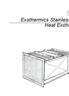 Stainless Steel Exchanger- Brochure