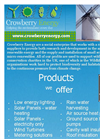 Crowberry Energy Brochure