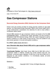 Gas Compressor Stations - Brochure
