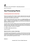 Gas Processing Plants Brochure