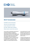 MS-57 Pyrheliometer - Technical Specifications