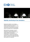 Instruments and analyzers for stability monitoring of sun simulators - Brochure