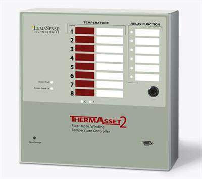 ThermAsset - Model 2 - Effective Fiber Optic Hot Spot Monitor and Controller for Power Transformers