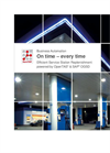 On time - every time: Efficient Service Station Replenishment - Brochure