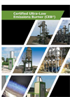 CEB - Certified Ultra-Low Emissions Burner - Brochure