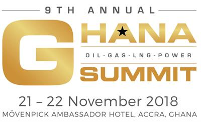 Annual Ghana Summit Oil • Gas • LNG • Power 21–22 November 2018  Mövenpick Ambassador Hotel - Accra, Ghana
