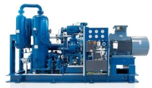 Biogas compressor - Model Series VMY - Oil-Injected Screw Compressor for Bio- and Processgas