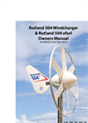 Marlec - Model Rutland 504 e-furl - Windcharger - Manual