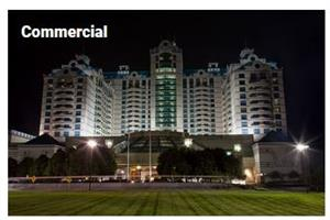 Power generation solutions for commercial buildings - Commercial