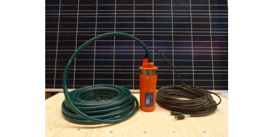 SEINE - Model DC 24V - Solar Water Now Kit for Pumping Water
