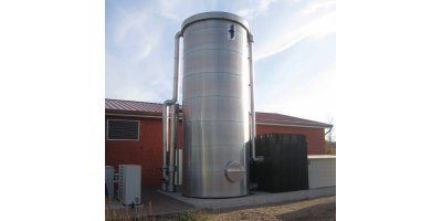 External desulphurisation - biological biogas purification