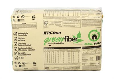 Cel-Pak Premium - Model INS773LD - Borate Insulation Cellulose Fiber