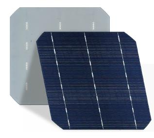 CSUN - Model S156-3BB-88 - Monocrystalline Silicon Solar Cell