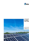 Commercial Solar Power Systems Brochure