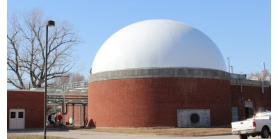 DuoSphere - Double Membrane Gas Holder for Biogas Storage
