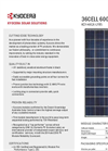 Model K D140 GX-LFBS - Photovoltaic Modules Systems Brochure