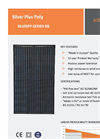 Solsonica - Revamping Photovoltaic Solar Modules Brochure
