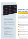 Suniva - Optimus Series 60 Cell (Mono) - Monocrystalline Solar Modules Specifications