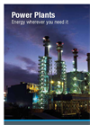 MAN Diesel Power Plants Brochure
