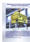 Concrete hoppers for Self Compacting Concrete - Brochure