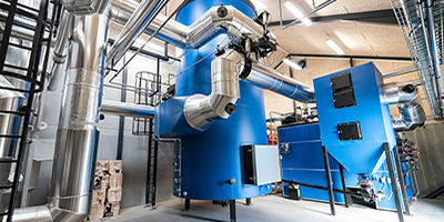 Linka - Wood Chips Heating Plant: 1,000 - 15,000 kW