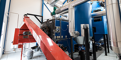 Linka - Wood Pellet Heating Plant: 1,000 - 15,000 kW