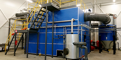 Linka - Wood Pellets Steam Plant: 400 - 15,000 kW