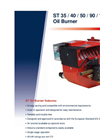 ST 40 Burner Brochure